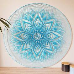 Crochet Mandala, Crochet Lace, Crochet Wall Art, Doilies, Dream Catcher, Decorative Plates, Knitting, Crafts, Diy