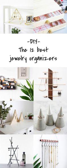 The best DIY jewelry organizers