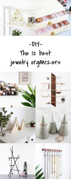 The best DIY jewelry organizers