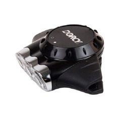 Dorcy - LED Cap Light Headlamp - Silver, Black