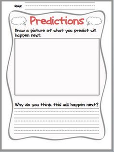 Language At 3 Predicts 3rd Grade >> 16 Best Predicting Activities Images In 2015 Guided Reading