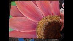 beginning acrylic painting - YouTube