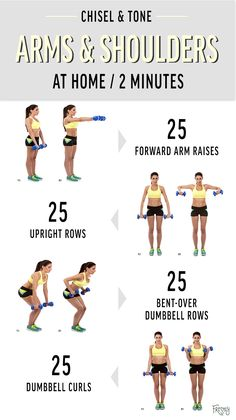 Workout efficiently! Try these four moves that target your arms, shoulders, and back simultaneously for a chiseled upper body.