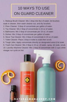 10 ways to use onguard cleaner Naturalmamashop.com