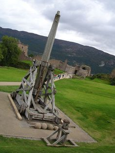 DSC02175, Trebuchet, Inverness, Invergordon, Scotland by lyng883, via Flickr-- perhaps too big for my back yard.