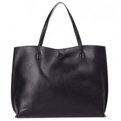 Sole Society - Reversible Tote with Pouchs - Milan - Black Cream