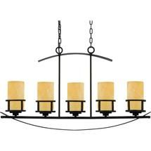 Buy the Quoizel Imperial Bronze Direct. Shop for the Quoizel Imperial Bronze Kyle 5 Light Linear Chandelier with Onyx Pillar Candle Shades and save. Island Pendant Lights, Island Pendants, Pendant Lighting, Ceiling Pendant, Bronze Chandelier, 5 Light Chandelier, Chandeliers, Kitchen Chandelier, Candle Chandelier