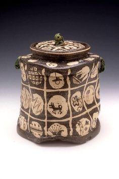 Goro Suzuki, Title: Oribe Water Jar, 1999