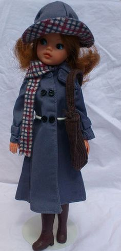 Pedigree Sindy 1982 April Showers Miss Sindy Outfit with HTF Bag and Scarf
