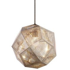 Etch Pendant Light by @tomdixonstudio at Lumens.com