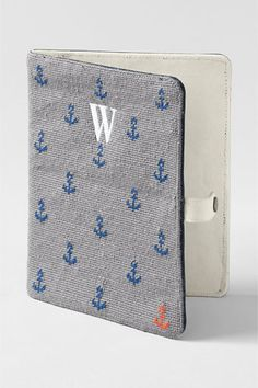 Needlepoint iPad Case from Lands' End