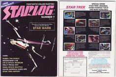 Starlog Magazine Star Wars preview