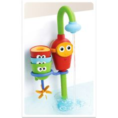 Yookidoo - Flow 'n Fill Spout would be tons of fun at bath-time.
