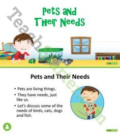 Pets and Their Needs PowerPoint