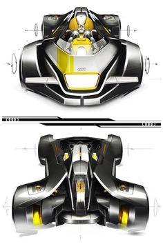 Audi Concept Design Sketch