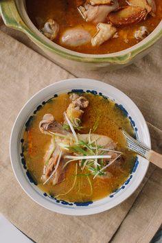 Sesame Oil Chicken Soup recipe by the Woks of life @thewoksoflife1