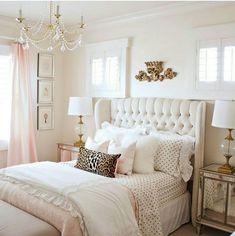 Bedroom/ Mauve / leopard print