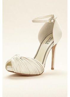 571dd436618 Truly Zac Posen Peep Toe Platform Sandal ZP621604 Wedding Accessories For  Bride