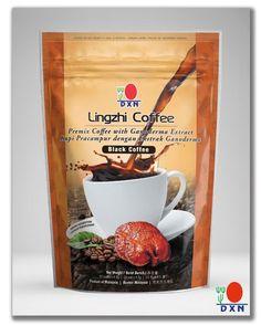 Cafe Lingzhi Negro 2 en 1