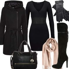 Black Monroe #fashion #style #outfit #look #dress #mode #sexy #trend #luxury