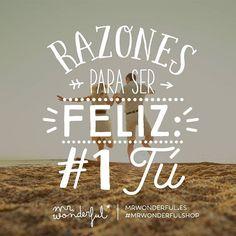 ¿Algún romanticón en la sala? #mrwonderfulshop #felizsábado  Reasons to be happy: 1 YOU. Any soppy souls in the house?