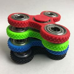 Grip Fidget Spinner by ForgeDaddy on Etsy