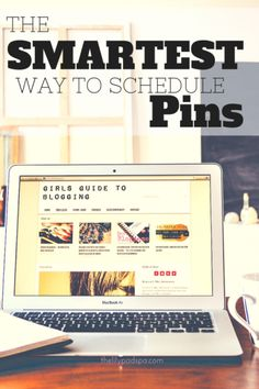 Blogging Tips | Pinterest Scheduling | Being on social media constantly is exhausting. I've been looking for a way to simplify pinning 3x a day, harness the power of a preset schedule and analytics, and I've finally found it! Read why you NEED to check out this powerful tool!