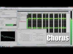 Chorus Effekt Hörbeispiel Adobe Audition Sprachaufnahme