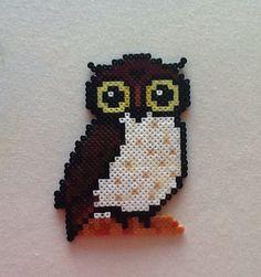 Owl  Hama mini beads by Pam Davies