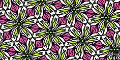 Title  Kind Of Cali-lily  Artist  Elizabeth McTaggart  Medium  Digital Art - Digital Art #tessellations #fun #cards