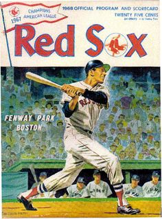 1968 New York Yankees vs Boston Red Sox by TheKnotHoleGang on Etsy,