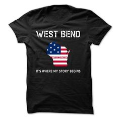 WEST BEND LOVE It's Where My Story Begins T-Shirts, Hoodies. ADD TO CART ==► https://www.sunfrog.com/LifeStyle/WEST-BEND-LOVE-X2.html?id=41382