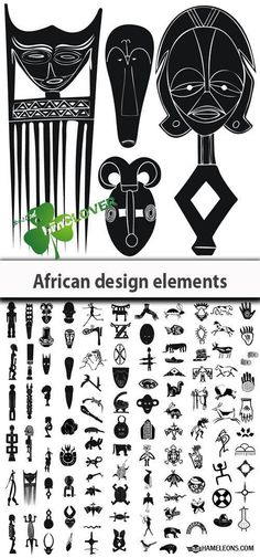 Symbols and designs from Africa