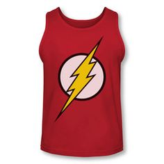 The Flash Logo Adult Tank Top $24.99 with free U.S. shipping