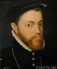 Sir Anthonis van Dashorst Mor - König Philipp II. von Spanien / Mor