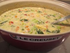 Zupa's Garden Chowder...recipe from the person who submitted it to their contest and won. This really was super yummy!