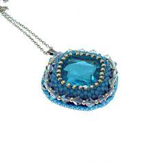 Náhrdelníky Exklusiv   Mijabijoux Handmade Jewelry Turquoise Necklace, Handmade Jewelry, Pendant Necklace, Handmade Jewellery, Jewellery Making, Diy Jewelry, Drop Necklace, Craft Jewelry, Handcrafted Jewelry