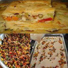 Não perca a receita maravilhosa de Torta de Sardinha de Liquidificador!