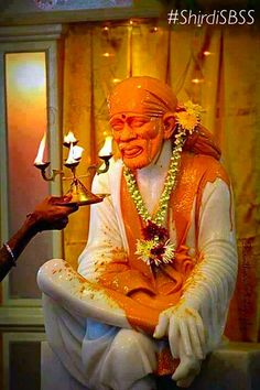 "Happy Baba's Day to all   ""Shirdi Baba asked Mother Divine, 'Bless whoever…"
