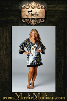 Dear John Tunic Dress http://www.marliemadison.com/dresses/mmb-famous-tunics/dear-john-tunic-dress