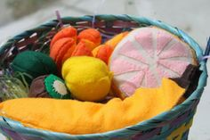 Tons of Felt Food