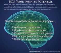 Founders Message 5 Laws of BOS