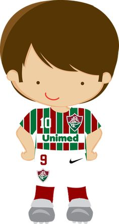 Futebol - Minus Soccer Theme, Football Themes, Soccer Party, Cute Clipart, Football Pictures, Child And Child, Felt Dolls, Portfolio, Party Printables