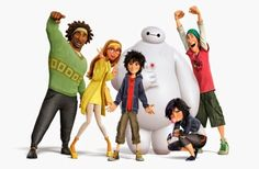 Letychicche: Film di Natale - Big Hero 6