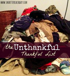 Are you struggling to feel grateful about something this year?   This post is for you.