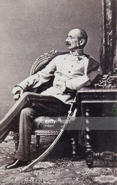 Ludwig von Benedek (1804-1881). General. 1862 Feldzeugmeister. Loser of the battle at Hradec Kralove (1866). 1865. Photograph with autograph dedication. Photograph.