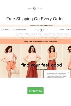 Best deals and coupons for Lou & Grey Discount Coupons, Grey, Clothes, Beauty, Gray, Outfits, Clothing, Clothing Apparel, Cloths