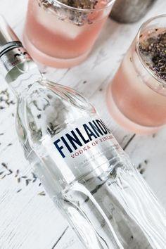 vodka cocktails, finlandia vodka, lavender simple syrup, lavender cocktails, the kentucky gent Vodka Cocktails, Refreshing Cocktails, Easy Cocktails, Summer Cocktails, Lavender Cocktail, Lavender Syrup, Cocktail Menu, Grapefruit Juice, Simple Syrup