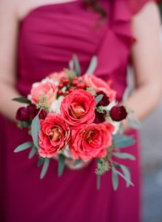 Dreamy Red and White Garden Wedding - Emily Katharine Photography http://emilykatharine.com | featured on http://fabyoubliss.com
