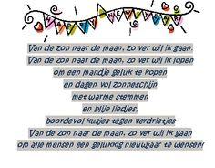 Nieuwjaarsbriefje